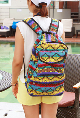Unique pattern backpack (4th restocking)