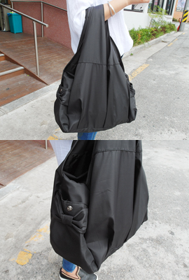 Ribbon pocket Hobo Bag (311 car stock)