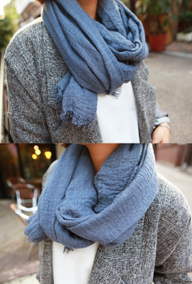 Surgical wrinkle scarf (5th stock)