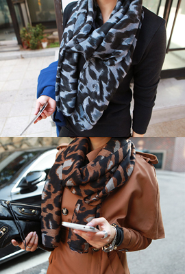 Leopard Scarf (secondary stock)