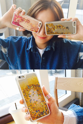 Aqua Bling Star Case (iPhone 6 only) (3rd stock)