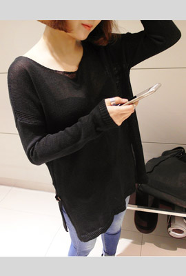 Teuim monoculture loose knit T (4th restocking)