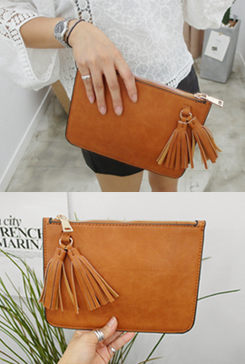 Twin Clutch mini tassels (the fourth stock)