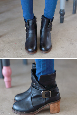 Point Strap Ankle Boots (3rd stock)