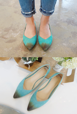Slim flat shoes pointed nose (3rd stock)