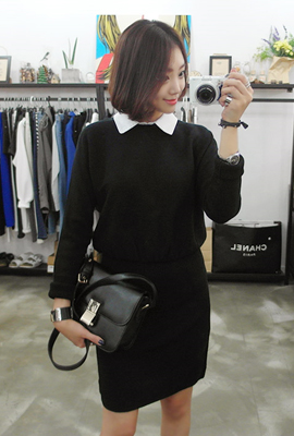 Kara layered knit dress (4th restocking)