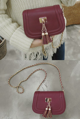 Mini chain tassel cross back (13th restocking)