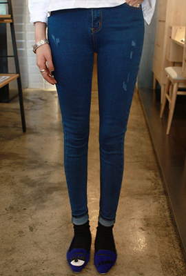 High basic skinny jeans (3rd stock)