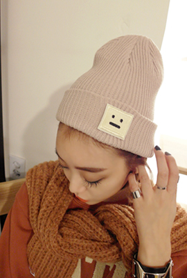 Simple Patch Beanie (3rd stock)