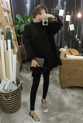 Surgical point knit dress (52th stock)