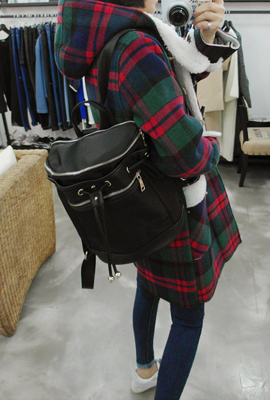 Zipper Backpack Bucket (7th stock)