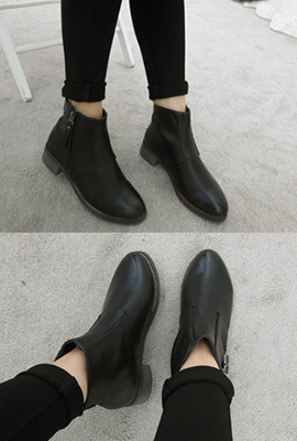 Slim cut-flops Ankle Boots (11 th stock)