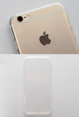 Transparent Jelly Case (iPhone 6 only)
