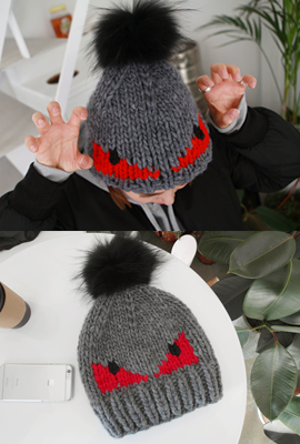 Real Monster Fox Beanie (5th stock)