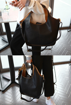 One-button simplicity Tote