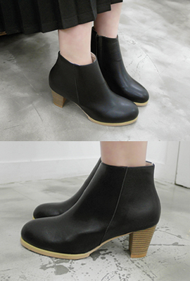 Wood Heel Ankle guppeo (3rd stock)