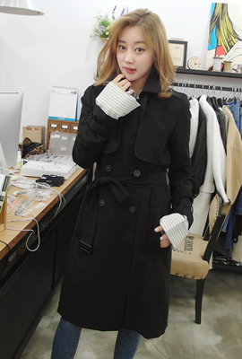 Formal trench coat (20th stock)