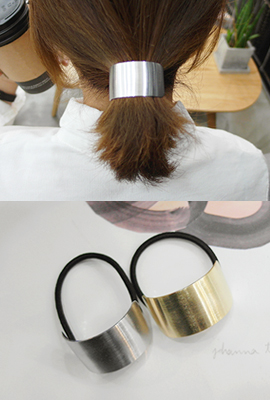 Curve Metal Hair Strap (18th stock)