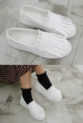 Double Fringe Slip On (4th restocking)