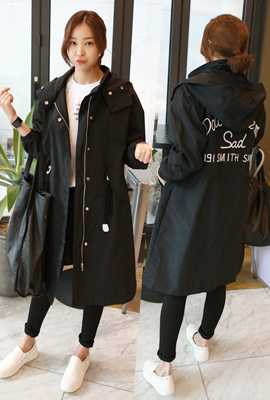 Porcelain can hooded jacket field image (6th in stock)