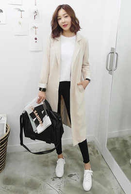Single Button Long Jacket (4th restocking)