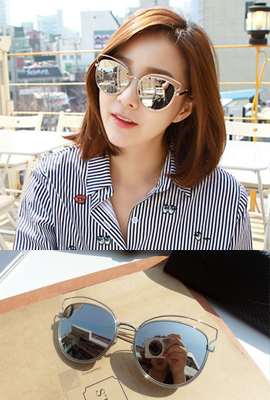 Metal Round Sunglasses (5th stock)