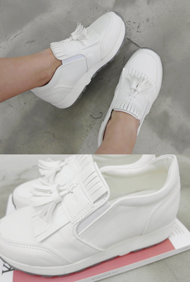 Tassels banding sneakers (secondary stock)