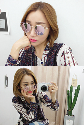 Trendy sunglasses mirror (6th in stock)