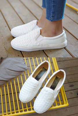 Weaving Leather Slip-on (4th restocking)