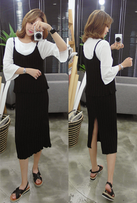 Nasir pleated two-piece set (8 primary stock)