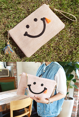 Smile tassels clutch (5th stock)