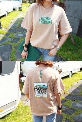 Station round tee (28th stock)
