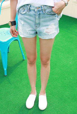 Vintage roll-up shorts (secondary stock)