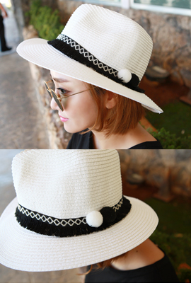 Surgical line Panama Hat (21st stock)