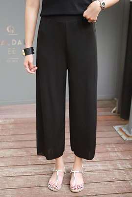 Banding cutting wide pants (secondary stock)