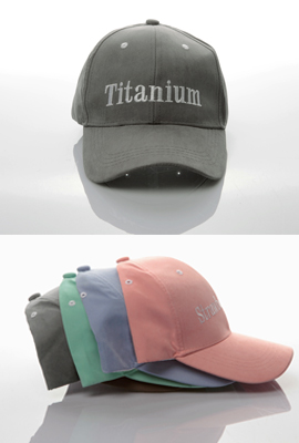 Pastel embroidered cap (6 th stock)