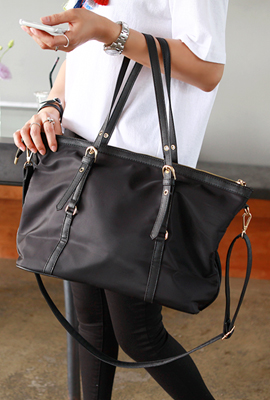 Two lines Black Bag (restocked 5th)