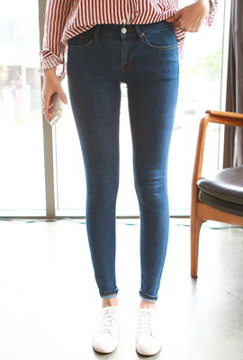 Simple span skinny jeans (secondary stock)