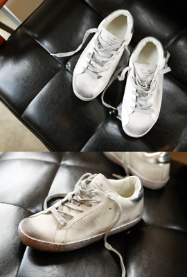 Vintage Leather Sneakers