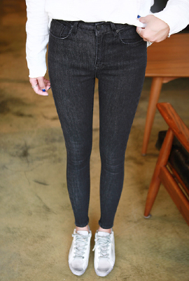 Banhayi simple skinny jeans