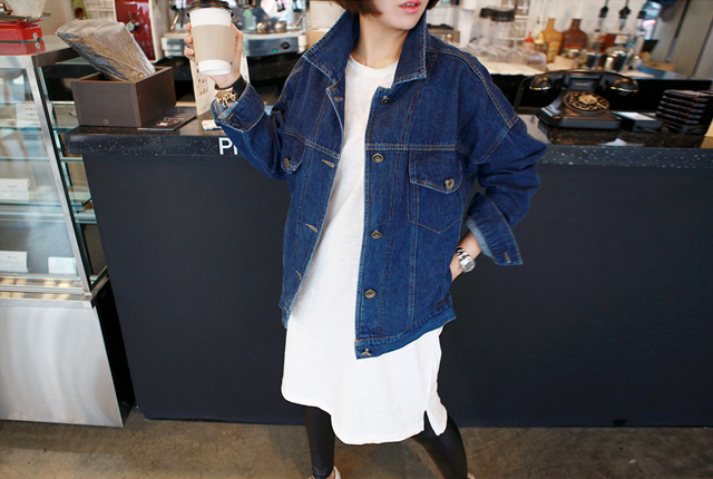 Fake pocket boots denim jacket (stock 11 pieces)