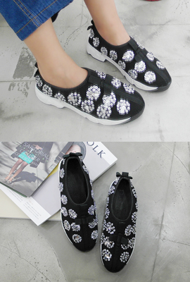 Bling mesh sneakers (secondary stock)