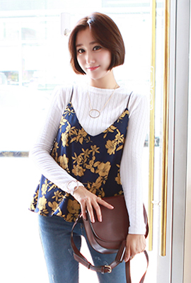 Flower bustier set (3 primary stock)