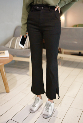 Teuim surgical boot-cut pants (9 th stock)