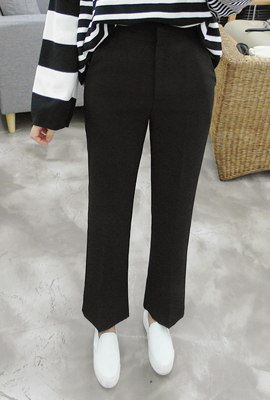 Formal high boots cut slacks (29th stock)
