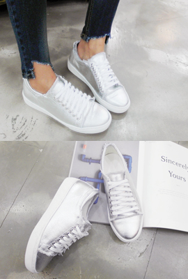 Natural Cutting Sneakers (13th stock)