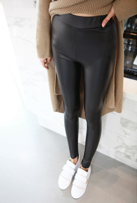 Leather leggings banding mode (66th restocking)
