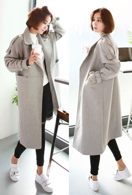 Strap long leg coat (31st stock)