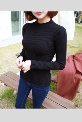 Half-necked Goliath knit tee (35th stock)