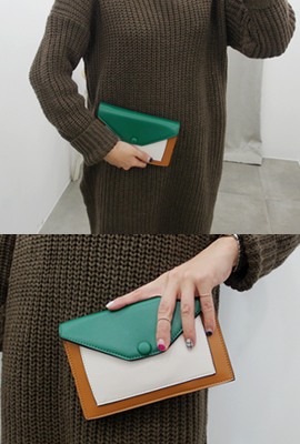 Three color clutch
